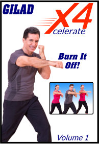 Gilad's Xcelerate-4 - Volume 1 - Burn It Off
