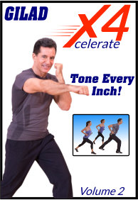 Gilad's Xcelerate-4 - Volume 1 - Tone Every Inch