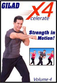 Gilad's Xcelerate-4 - Volume 4 - Strength