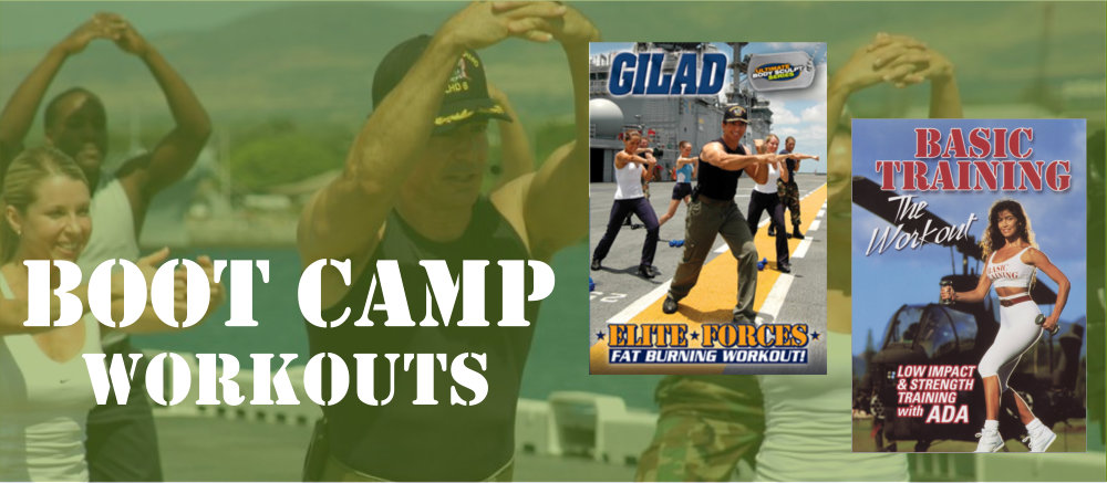 Boot camp workouts with Gilad