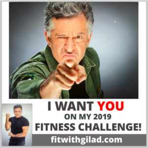 Join Gilad's 2019 - 60 day Fitness Challenge