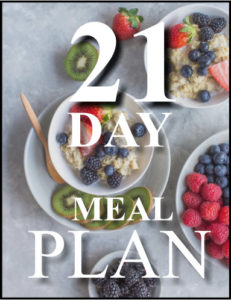 21 day meal plan