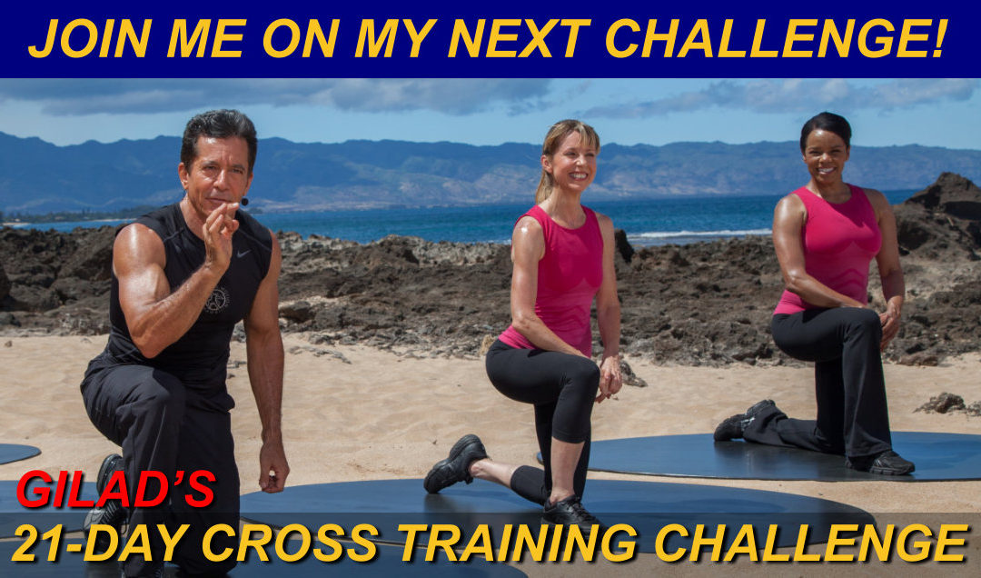 Challenge No 2 – Gilad's 21 Day Cross Training Challenge