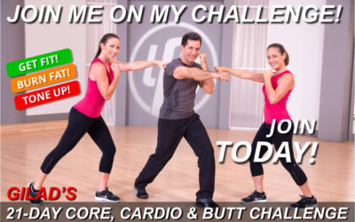 Challenge No 4 – Gilad's 21-Day Core, Cardio & Butt Challenge