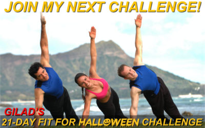Challenge No 3 – Gilad's 21 Day Fit For Halloween Challenge