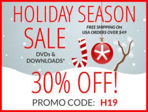 holiday season sale 30% off