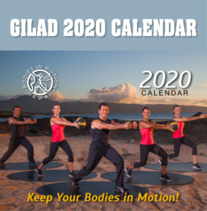 Gilad's 2020 Calendar