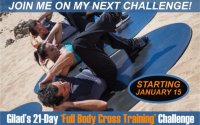 Challenge No 5 – Gilad's 21-Day Full Body Cross Training Challenge