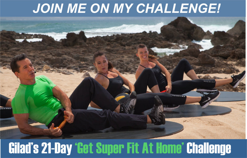 Gilad's 21 Day Fitness Challenge