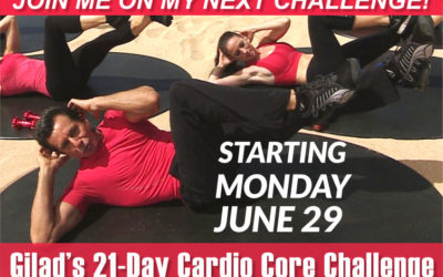 Challenge No 7 – Gilad's 21 Day Cardio Core Challenge