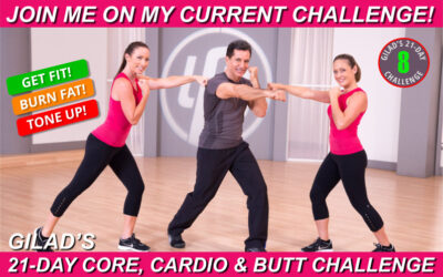 Challenge No 8 – Gilad's 21-Day Core, Cardio & Butt Challenge +