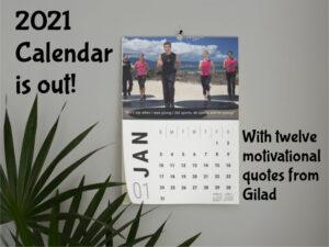 2021 Bodies in Motion Calendar