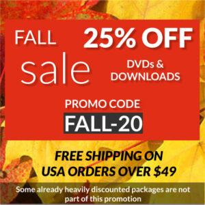 fall promo FALL-20
