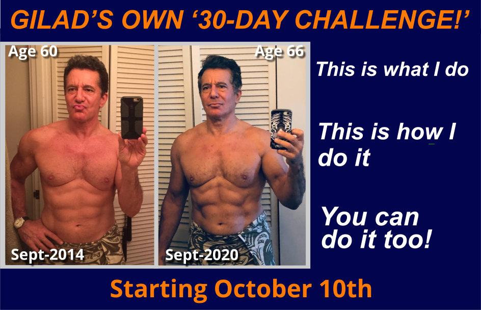 Gilad's own 30 day challenge