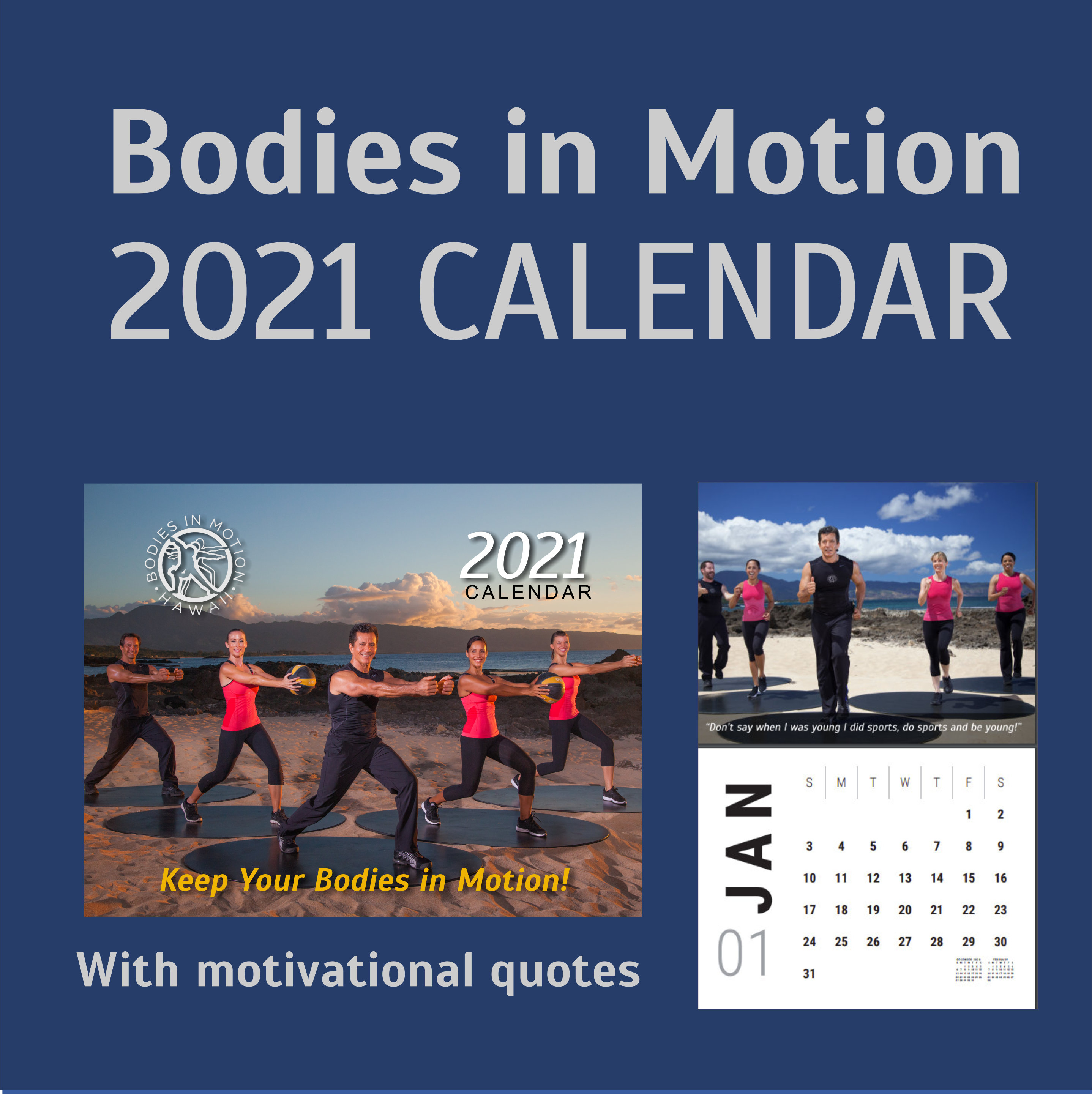bodies in motion calendar 2021