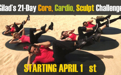 Gilad's 21-Day Core, Cardio and Sculpt Challenge – Challenge No 11