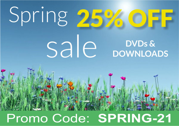 Spring Sale 25% Off, use promo code spring-21