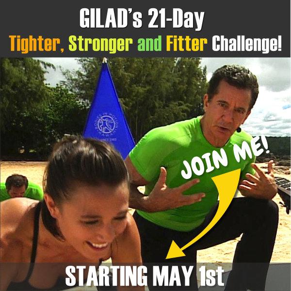 Gilad's 21-Day Challenge No 12
