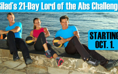 Gilad's 21 Day Lord of the Abs Challenge | Challenge No14