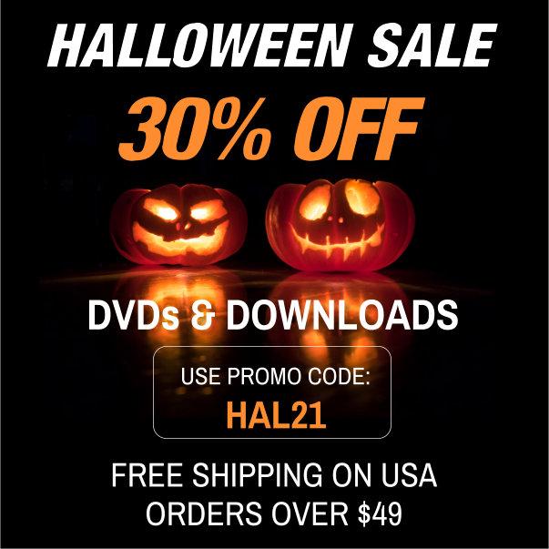 halloween sale 30% OFF, use promo code HAL21